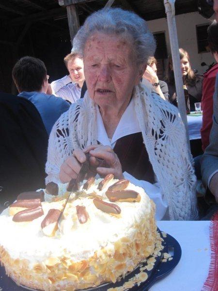 Oma at 95