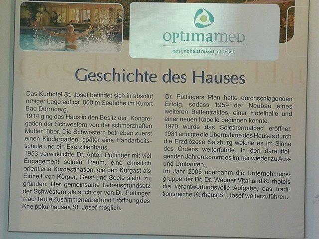 History of Hotel St Josef